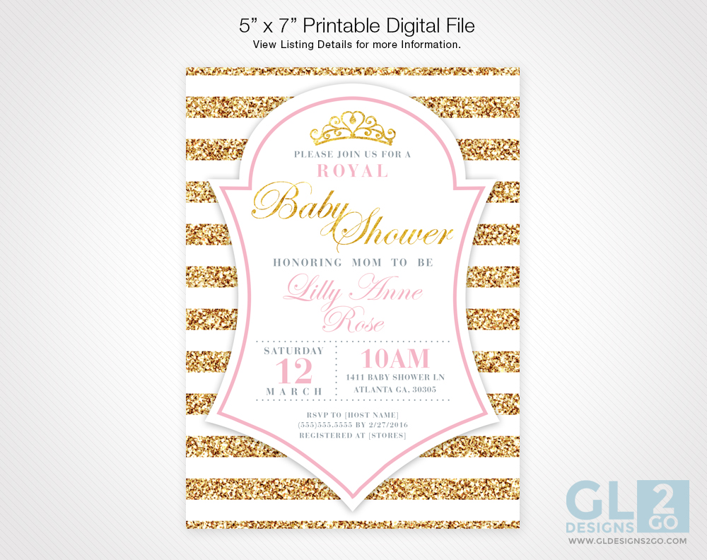 Tag archive for pink and gold baby shower invitation gldesigns 2 go princess baby shower invitation light pink filmwisefo